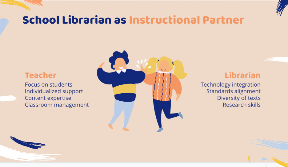school librarians as instructional partners